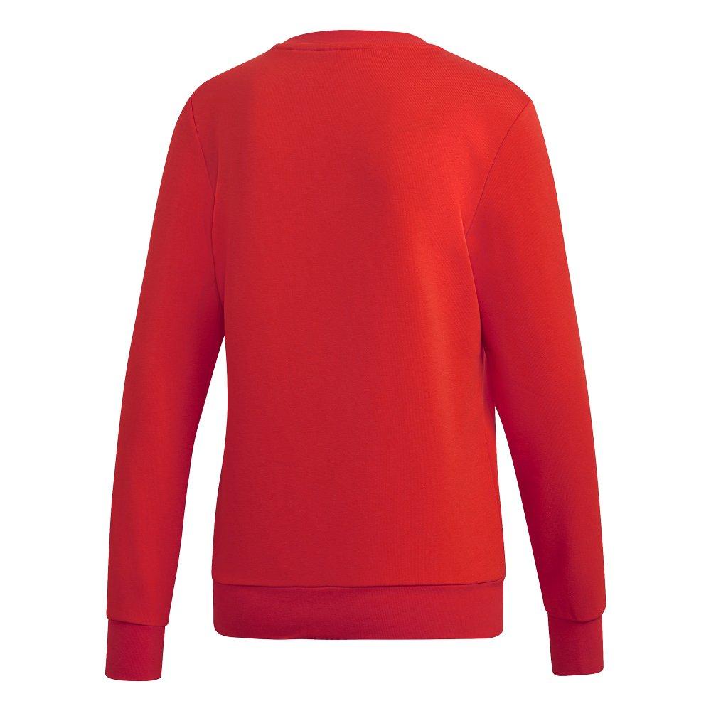 adidas Essentials Linear Crewneck czerwona