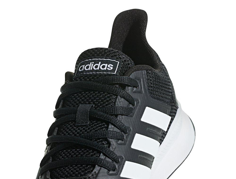 kupuję teraz nieźle naprawdę wygodne adidas Runfalcon M Biało-Czarne