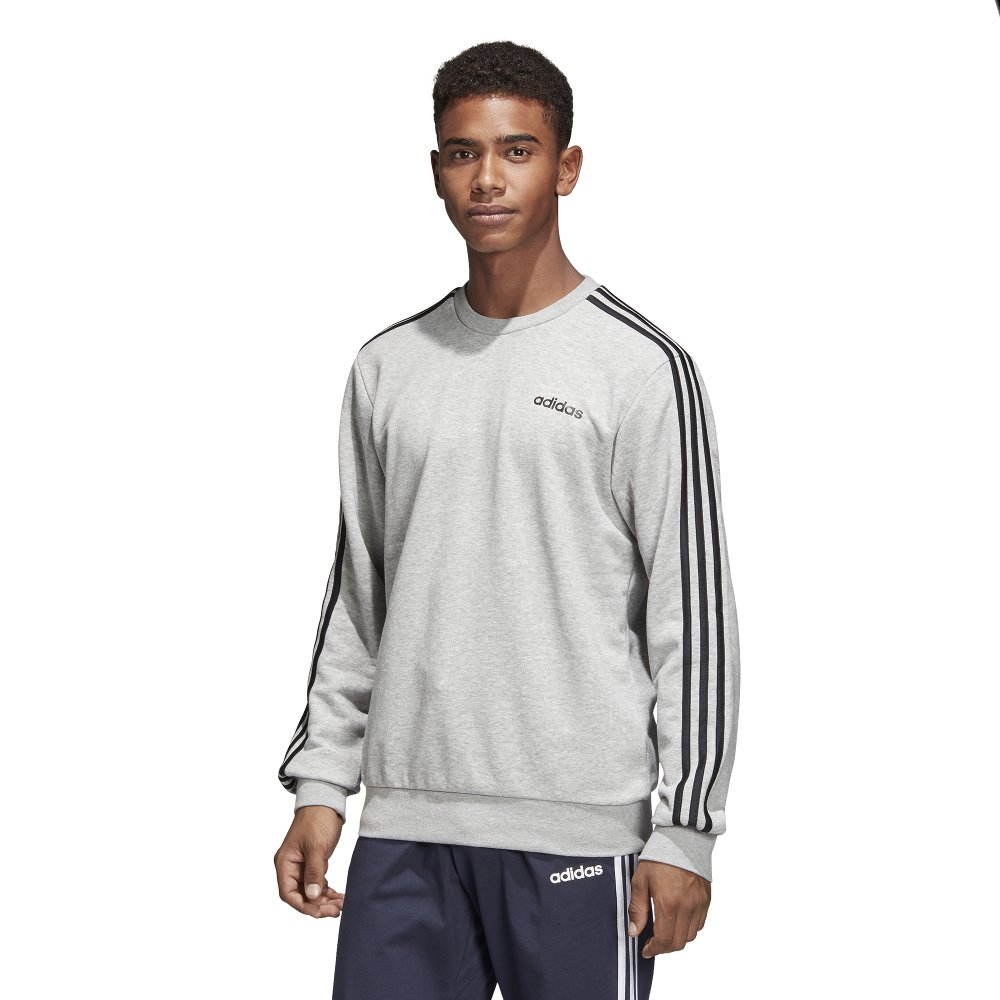 adidas essentials 3-stripes crewneck