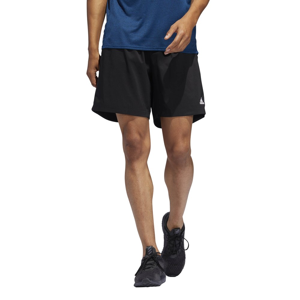 adidas own the run shorts m czarne