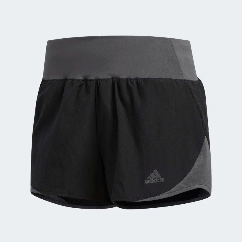 adidas run it short w czarno-szare