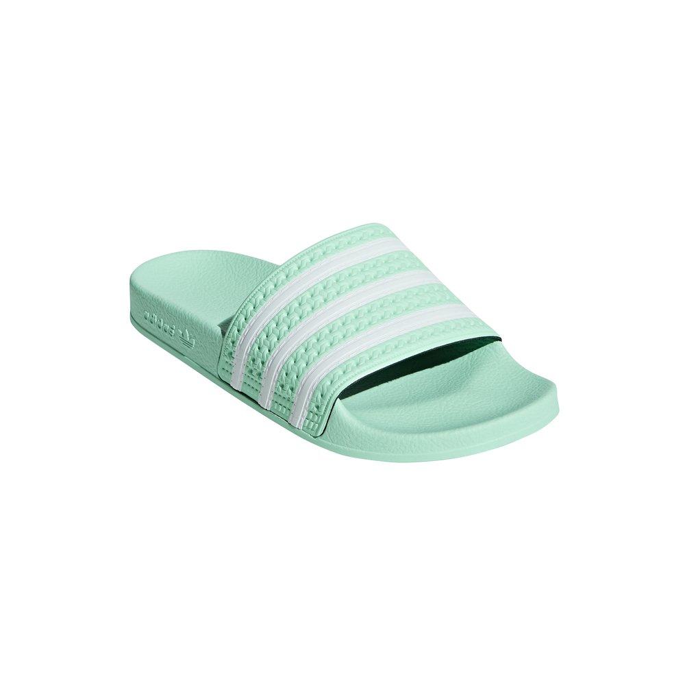 adidas adilette w damskie zielone (cg6538)