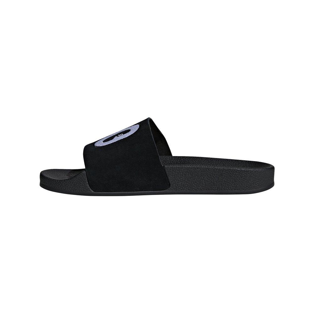 adidas adilette w damskie czarne (da9017)