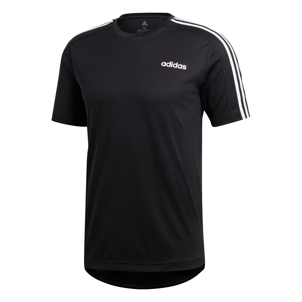 adidas design 2 move 3-stripes tee