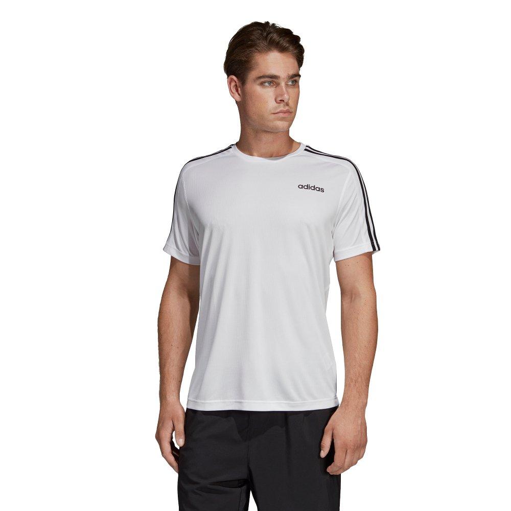 adidas design 2 move 3-stripes tee