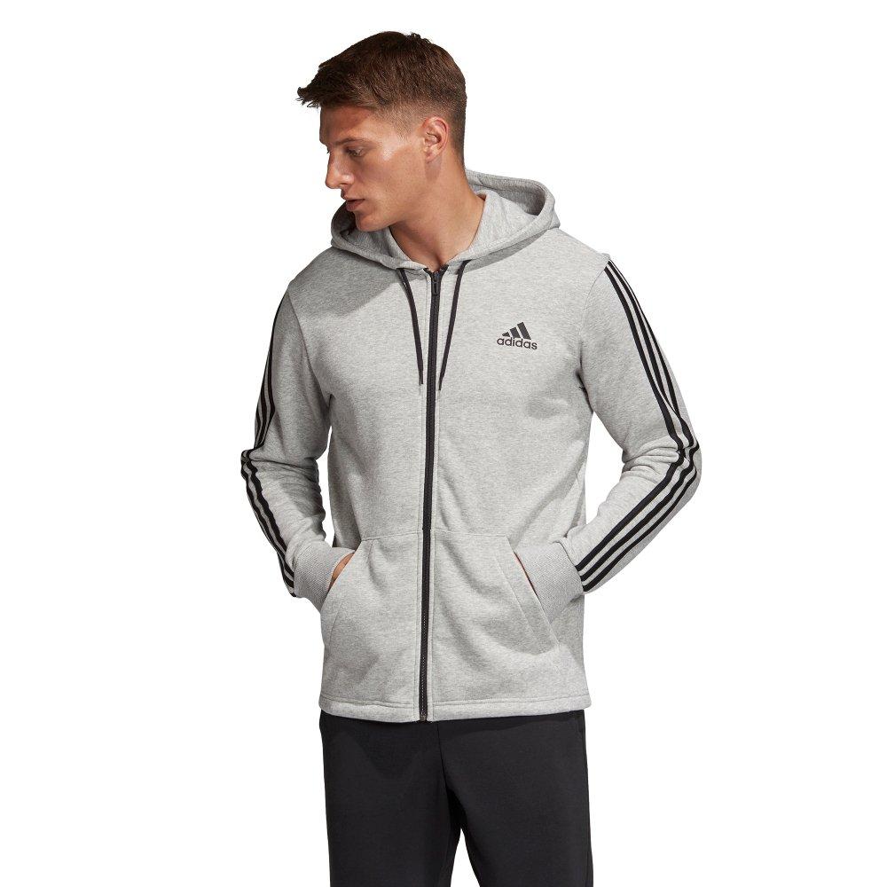 Adidas Must Have 3 Stripe Fullzip Hoodie