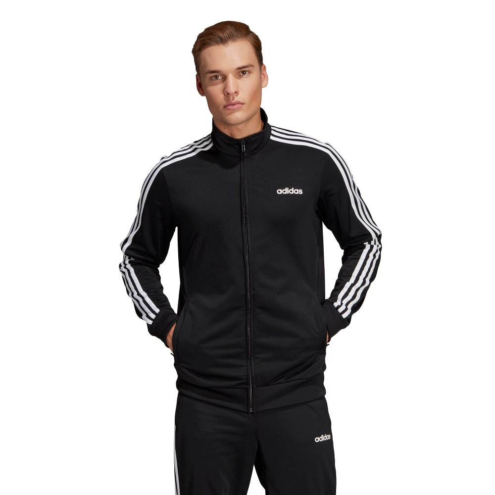 adidas essentials 3 stripes tric track top
