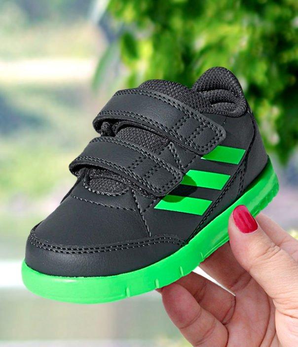adidas AltaSport CF I szaro zielone