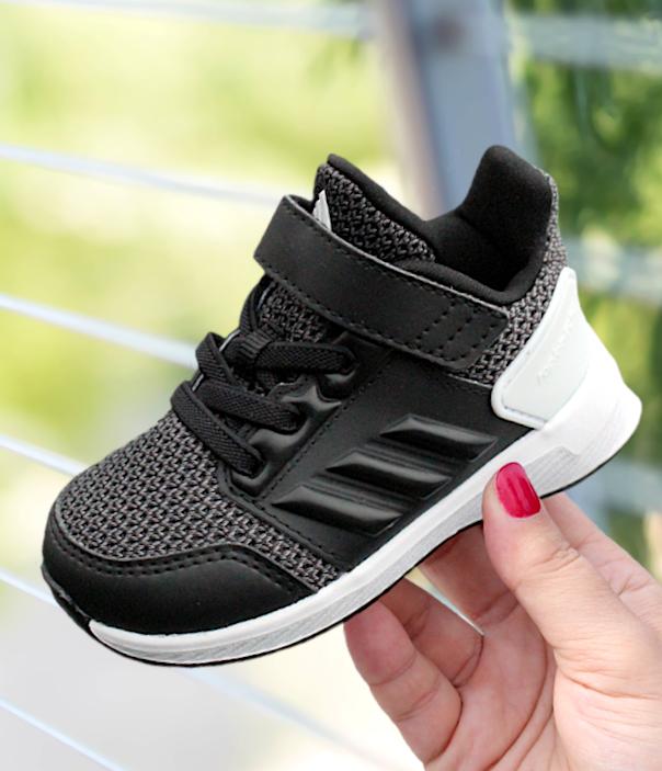 adidas RapidaRun EL I czarno białe