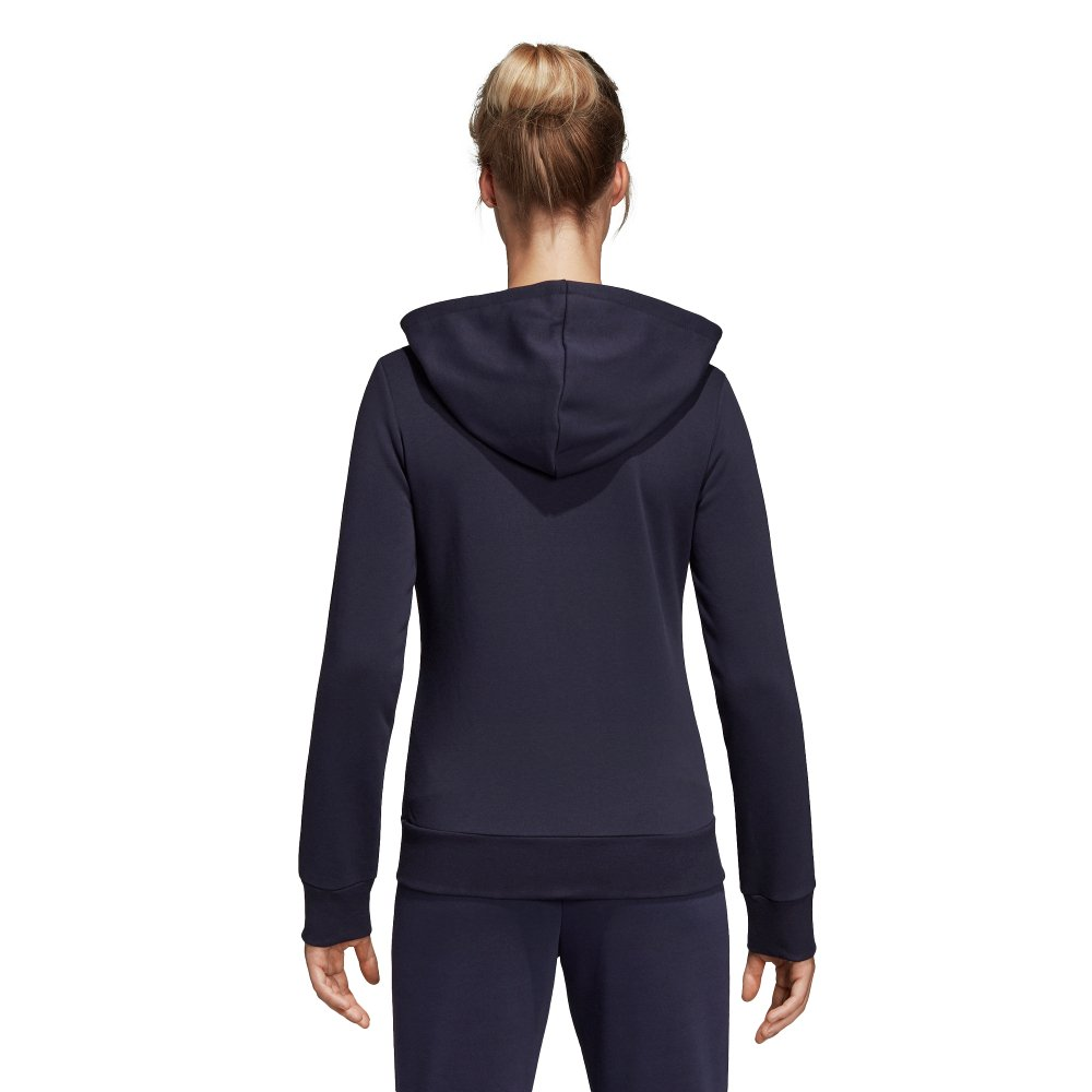 adidas essentials 3stripes full zip hoodie