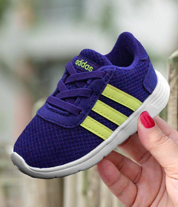 adidas Lite Racer Inf niebiesko żółte