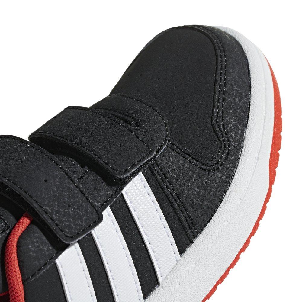 adidas hoops cmf mid inf czerwone