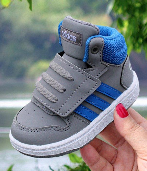 adidas Hoops Mid 2.0 I szaro niebieskie