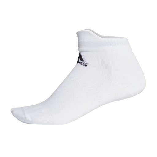adidas alphaskin ultralight ankle socks białe
