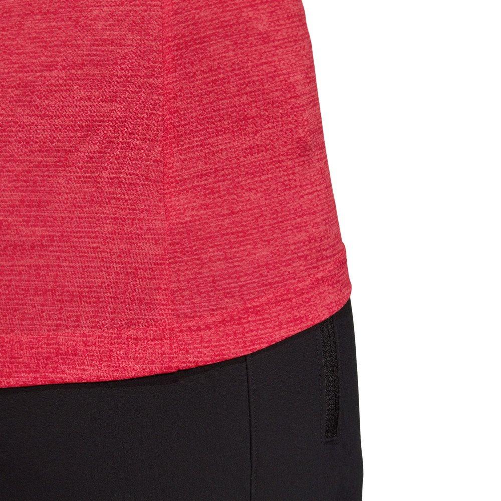 adidas terrex tivid tee w czerwono-koralowa