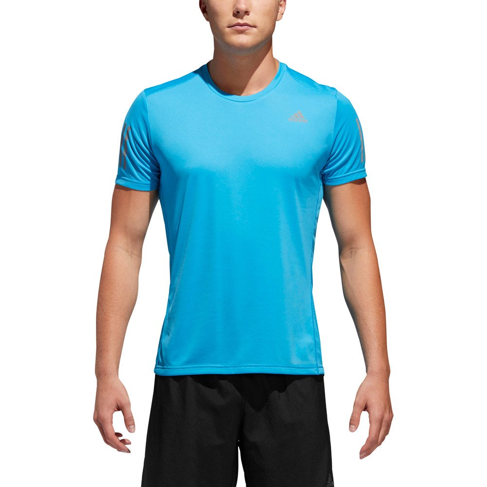 adidas own the run t-shirt blue