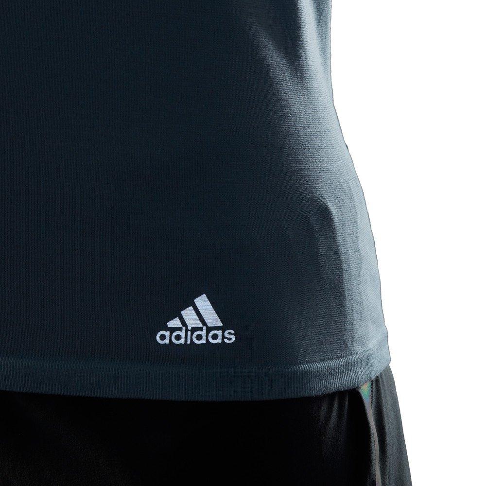 adidas 25/7 tee w stalowo-niebieska