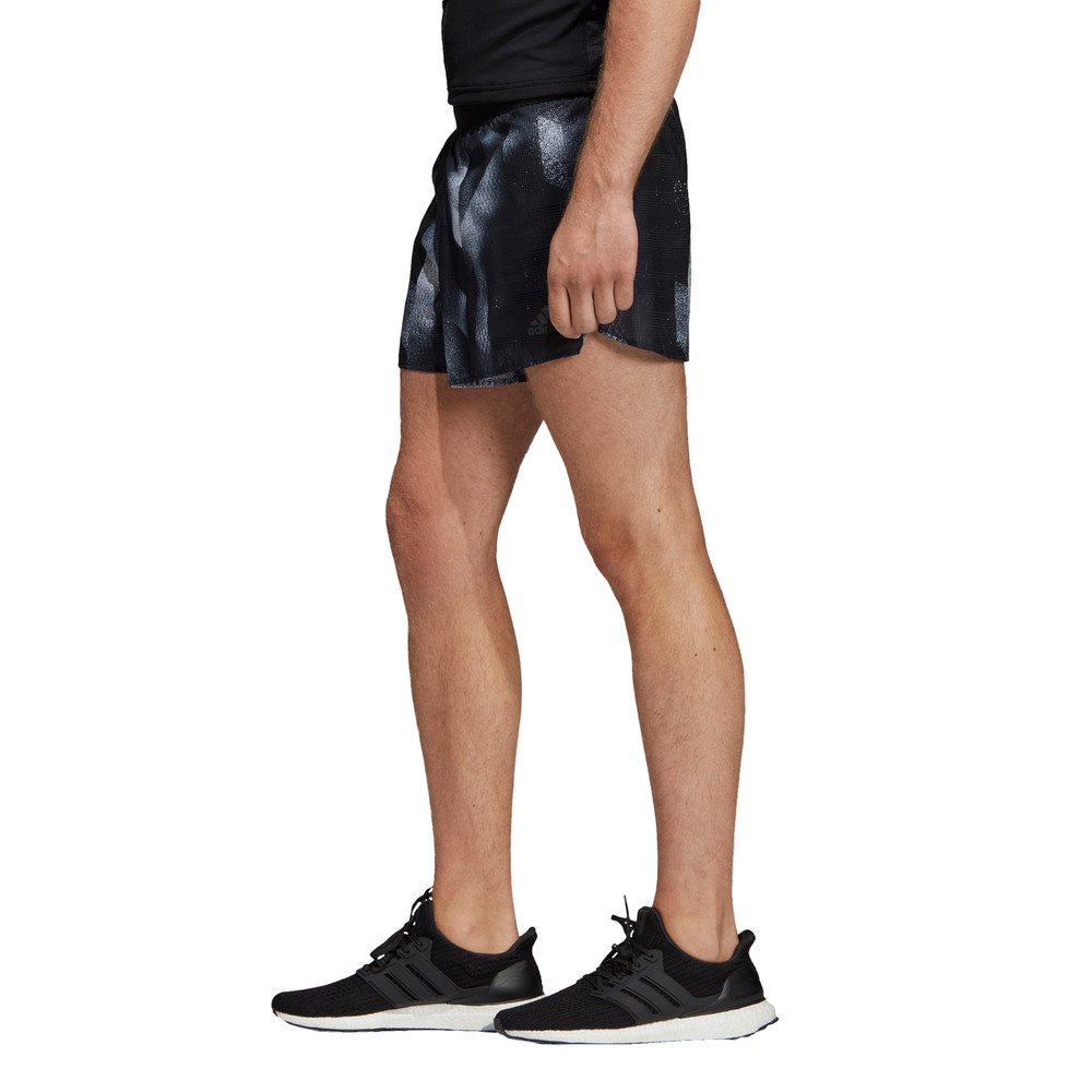 adidas sub 2 split shorts m szaro-czarne