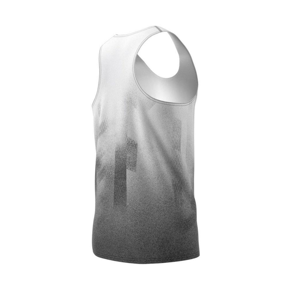 adidas sub 2 singlet m szaro-biała