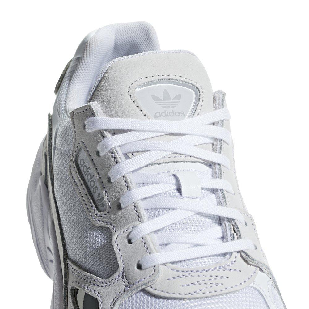 adidas falcon w białe damskie (b28128)