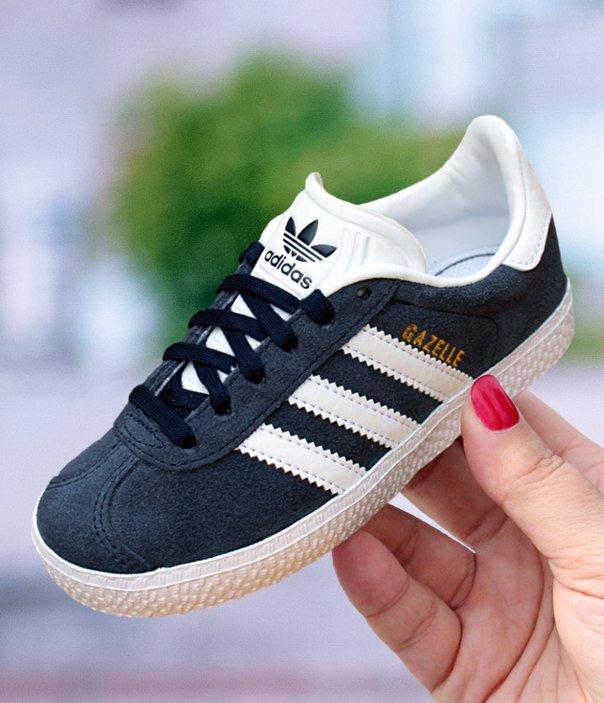 Buty dziecięce adidas GAZELLE BB2507 | Czarny, Biały