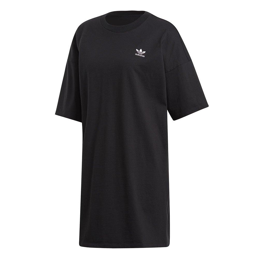adidas trefoil dress damska czarna