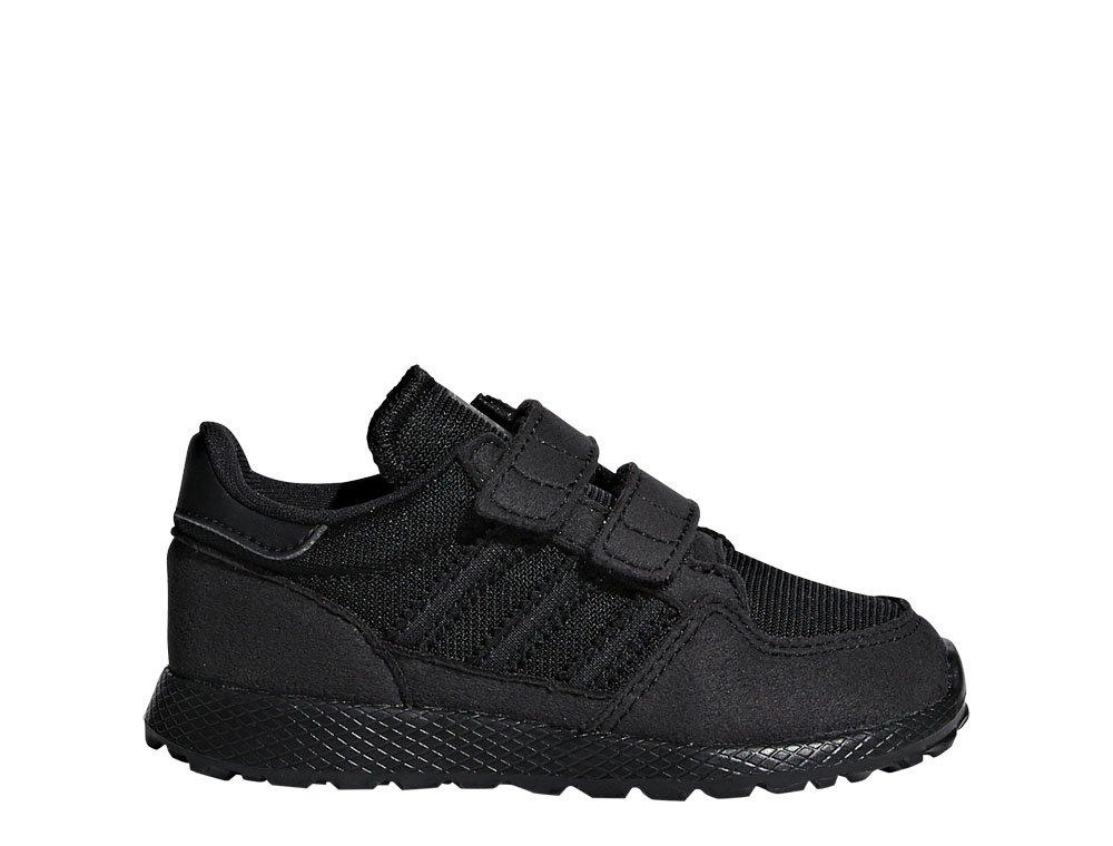 Buty dziecięce adidas Forest Grove CF I czarne [G27824