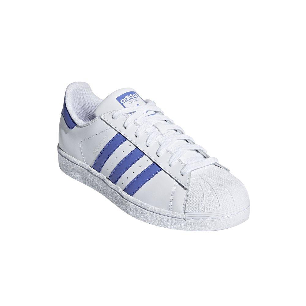 adidas Superstar biało niebieskie