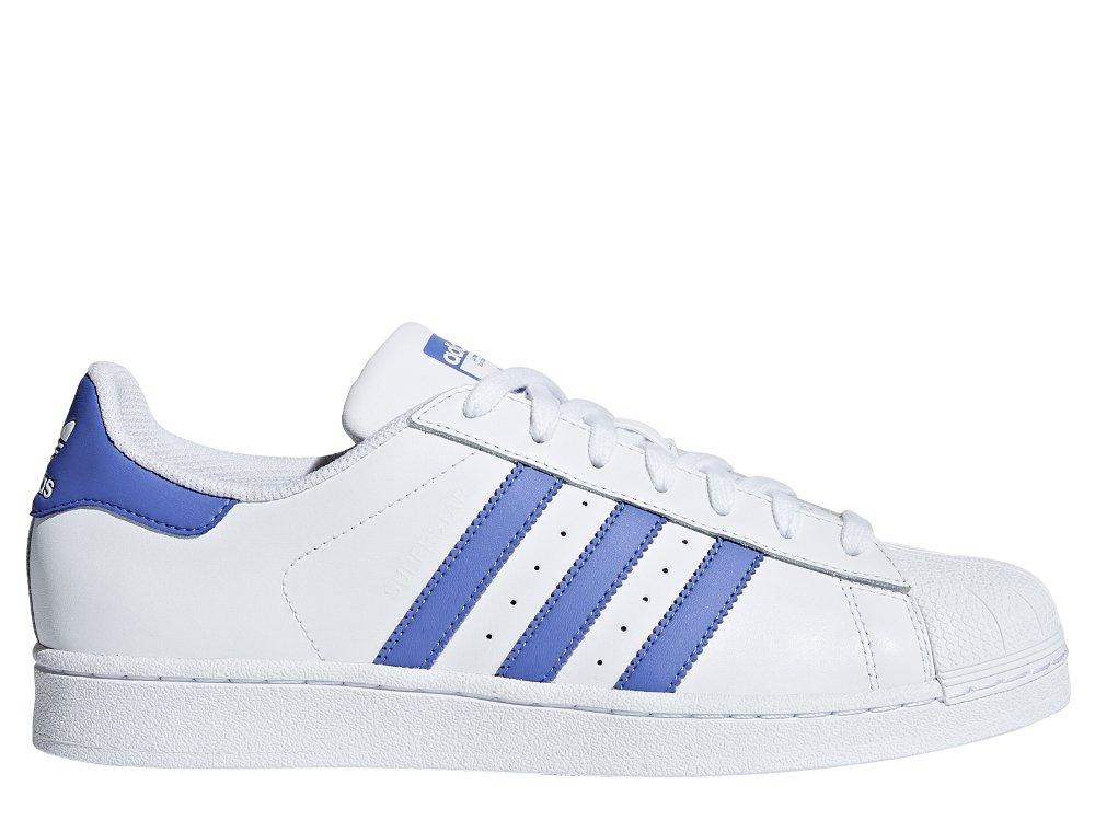 buty adidas superstar niebieskie