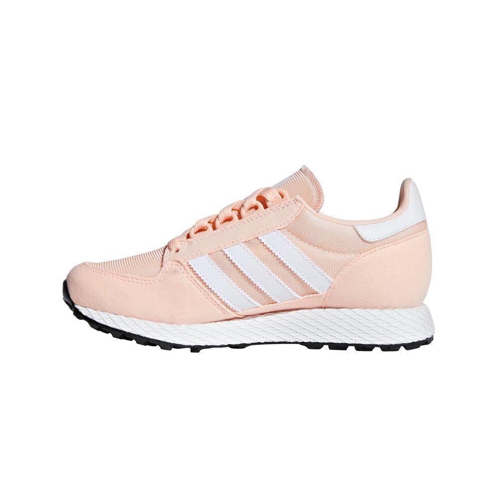 adidas forest grove j damskie różowe (f34325)