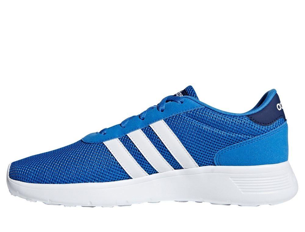 adidas lite racer niebiesko-białe