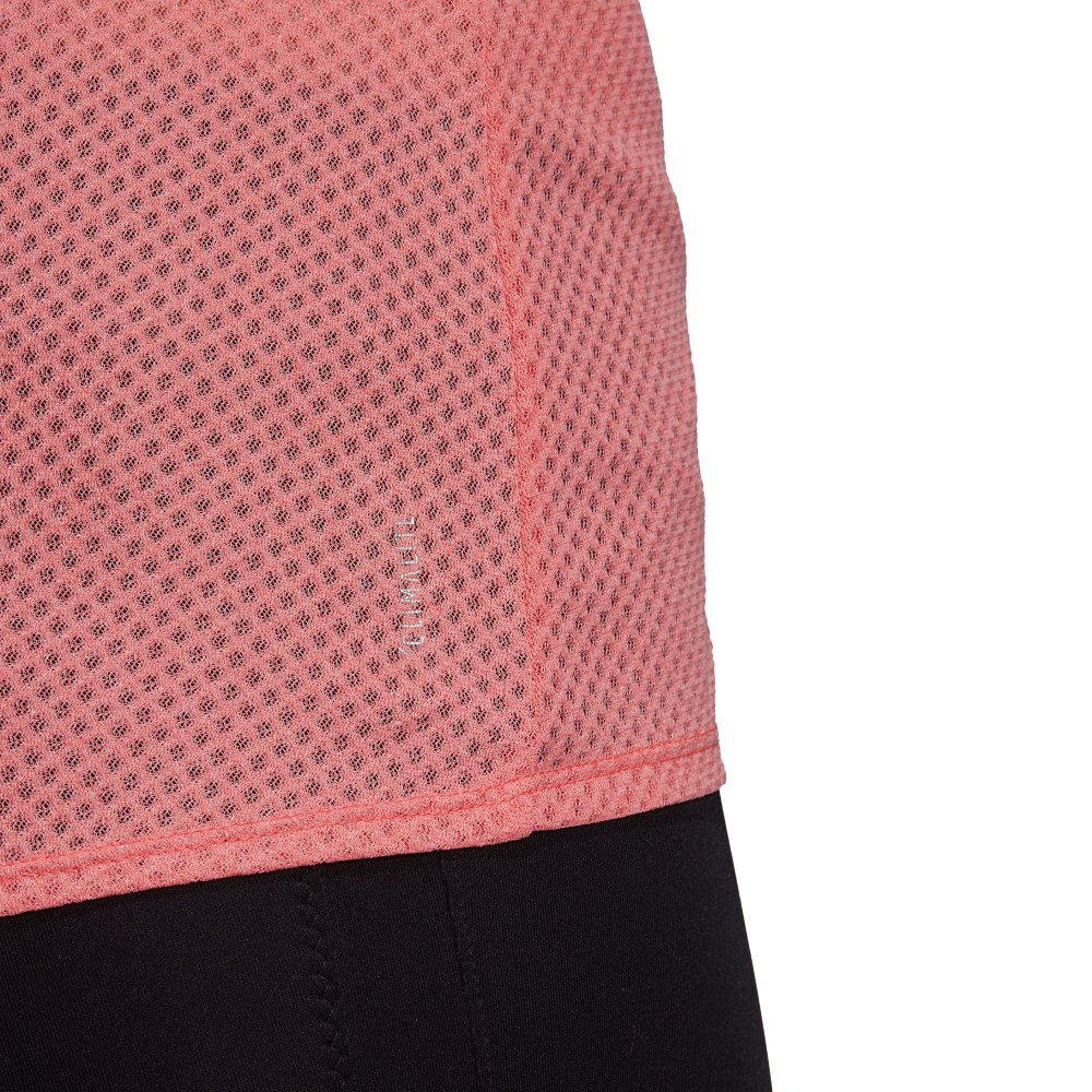 adidas response light speed tank top w różowo-czerwona