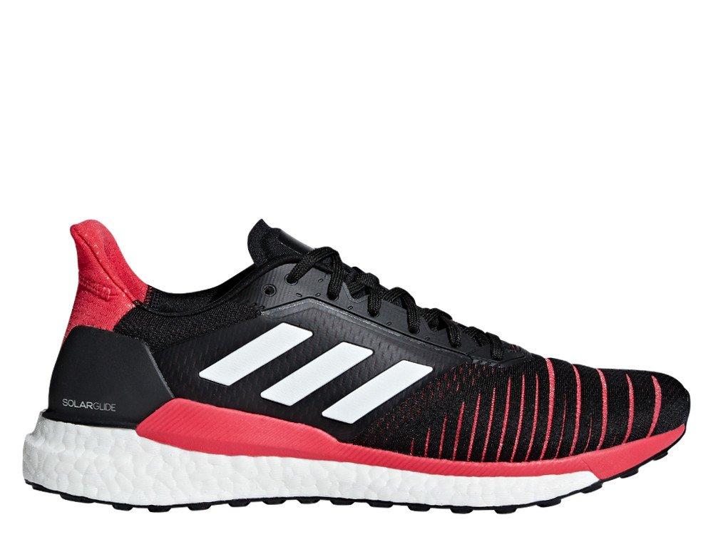 oryginalne buty dobra jakość ładne buty adidas Solar Glide M Malinowo-Czarne
