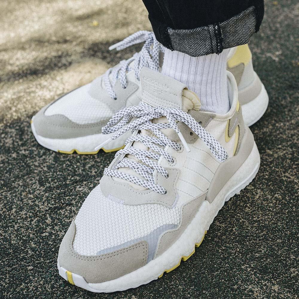 adidas nite jogger w szare damskie (cg6098)