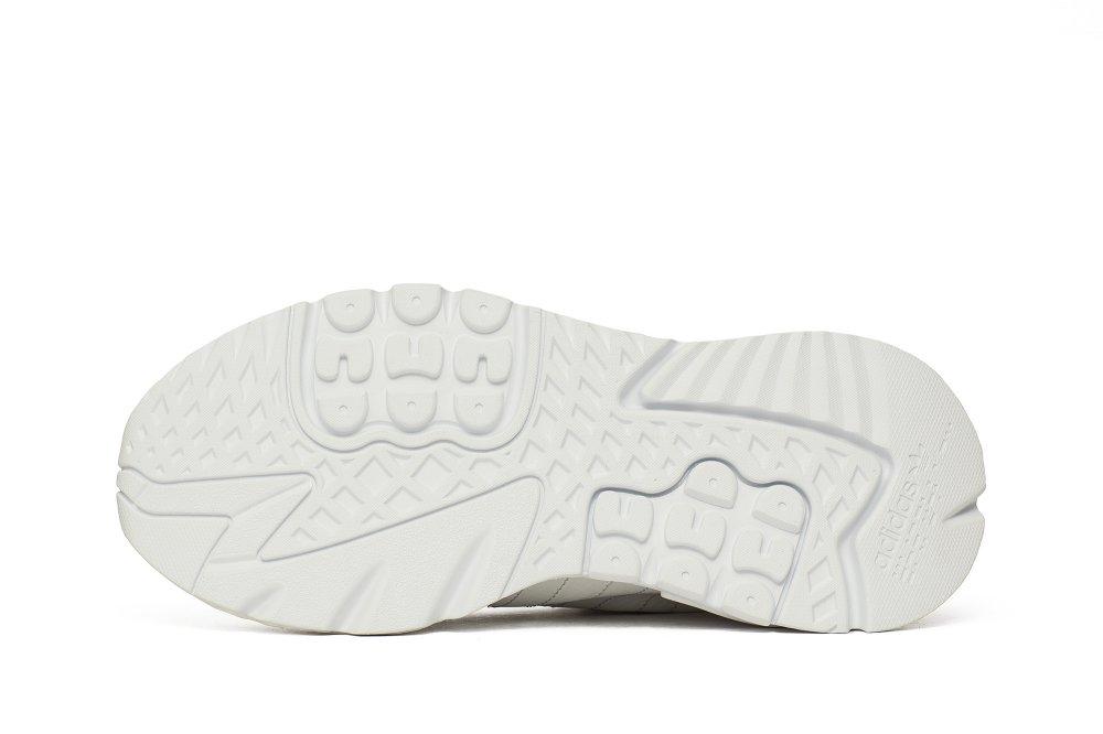 adidas nite jogger męskie białe (bd7676)