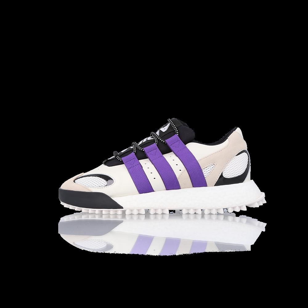 """adidas originals by aw wangbody run """"white purple"""""""