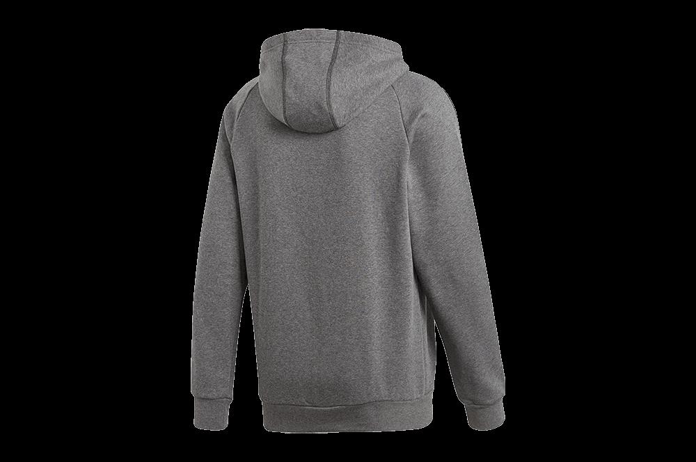 Bluza męska adidas Core 18 Hoody szara CV3327 XL