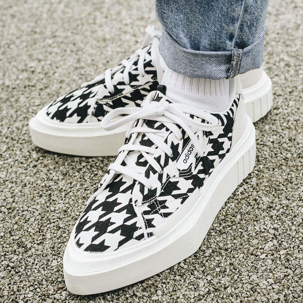 adidas hypersleek w damskie biało-czarne (g54058)