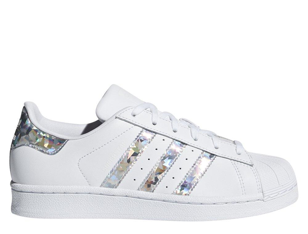 2018 buty najtańszy 50% zniżki adidas Superstar Junior białe