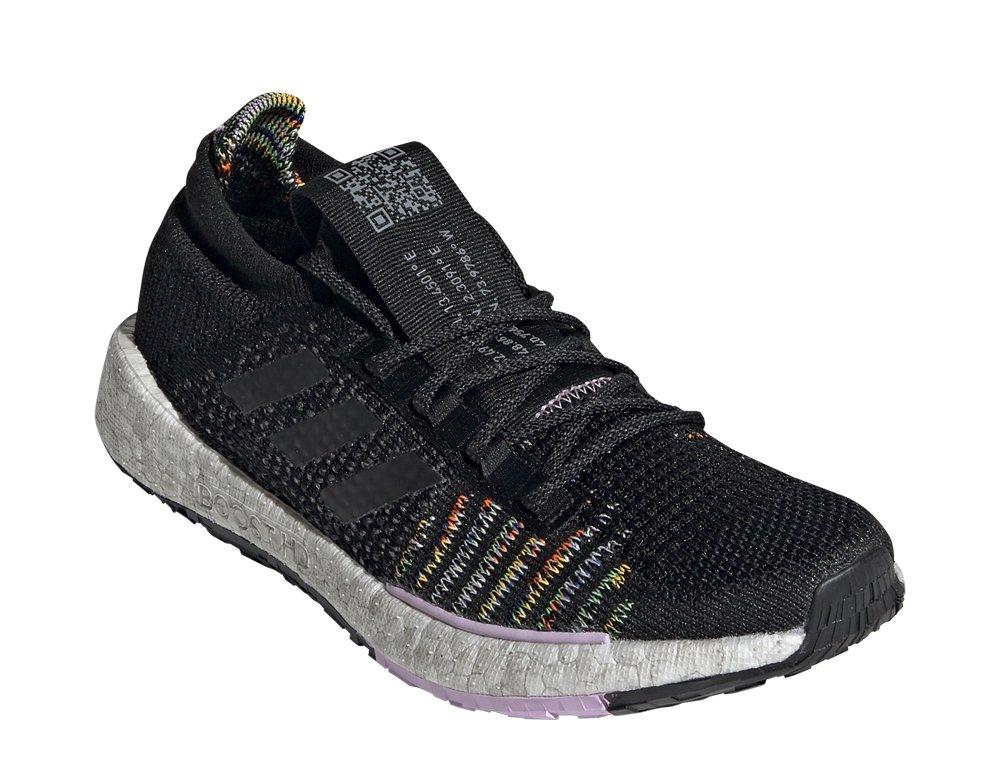 adidas pulseboost hd ltd shoes w fioletowo-czarne