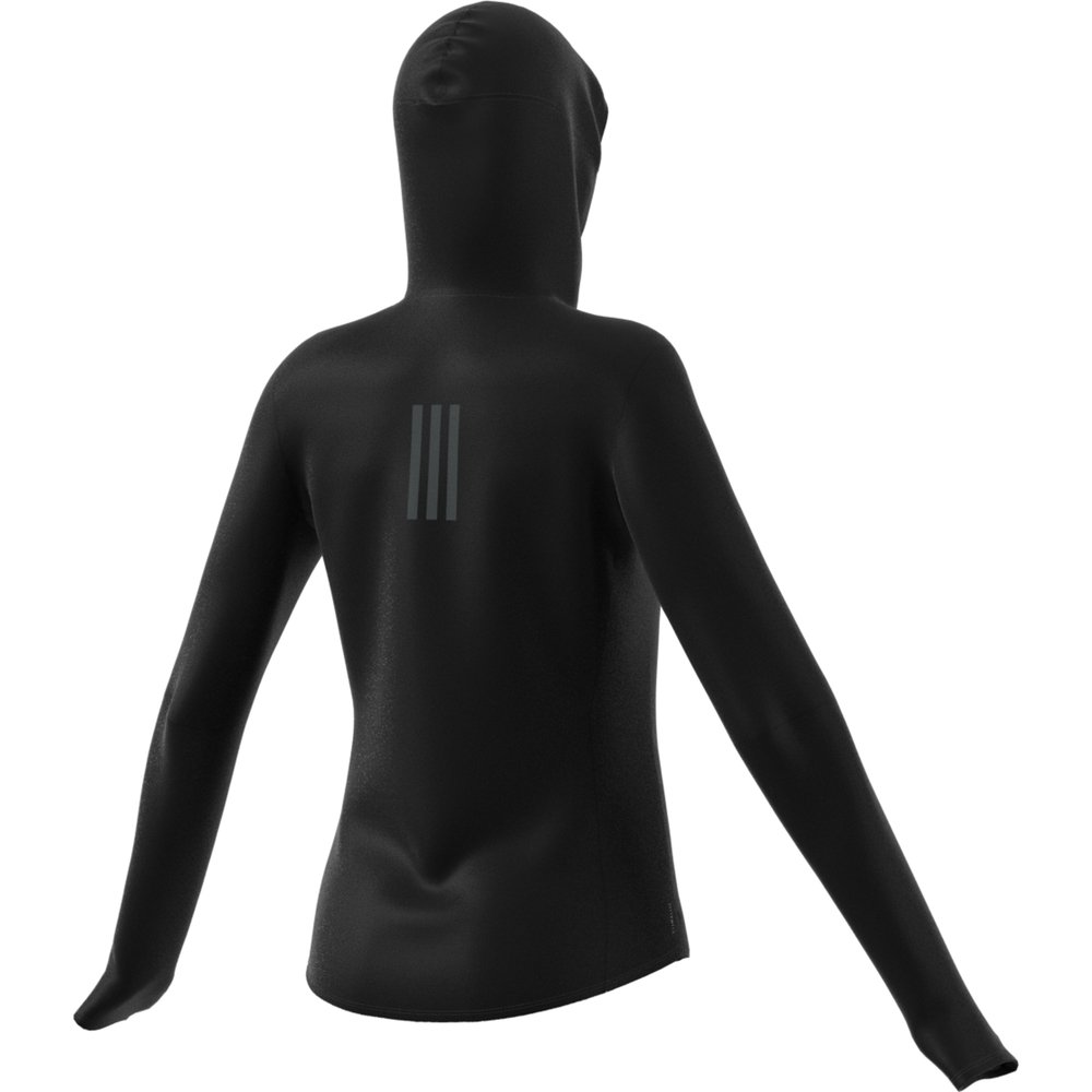 adidas own the run hoodie w czarna