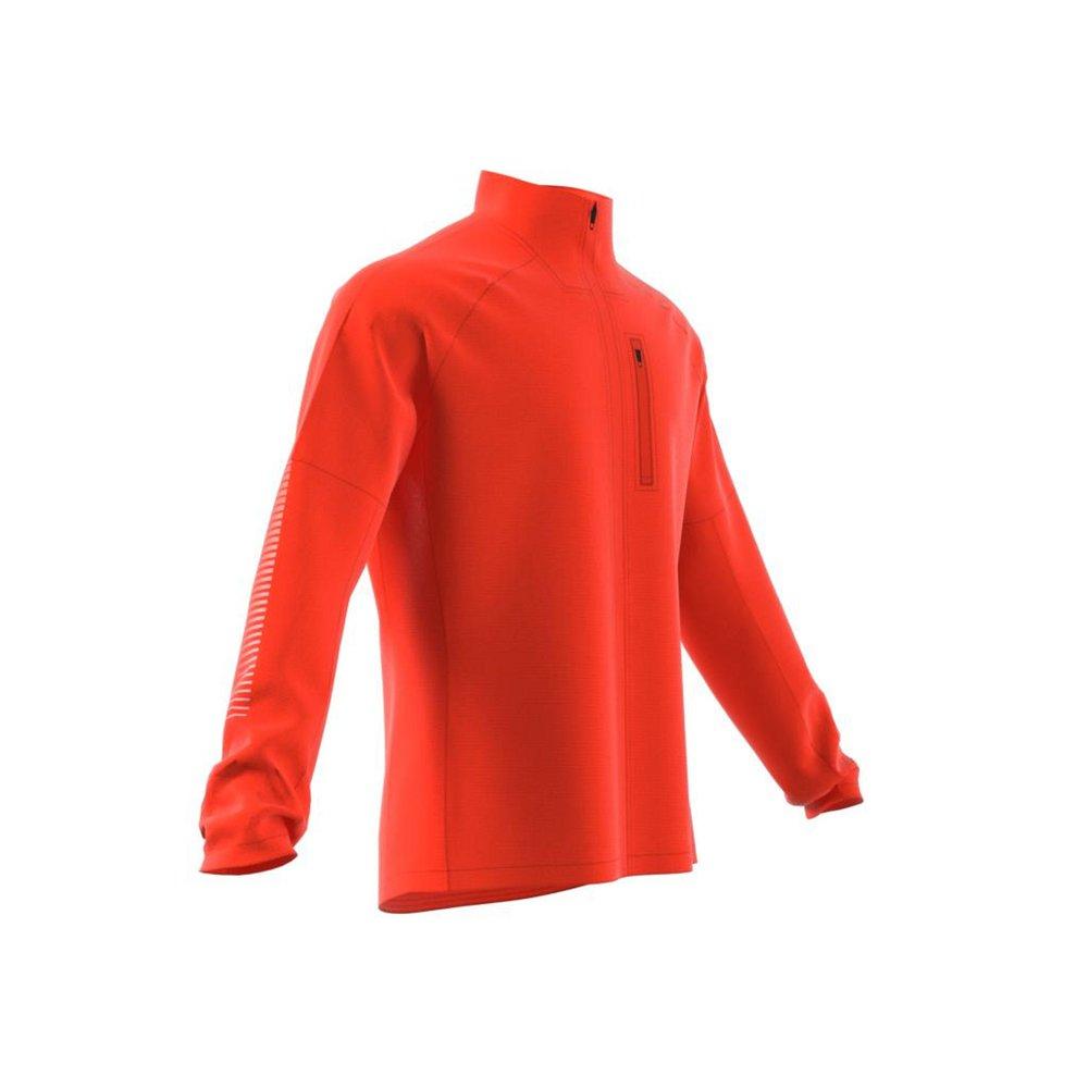 adidas rise up n run jacket m pomarańczowa