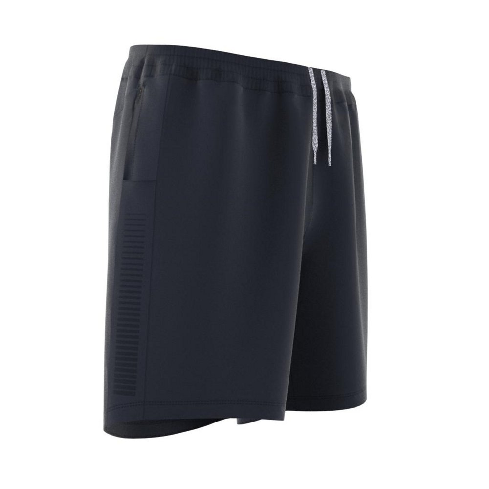adidas saturday rise up n run shorts m granatowo-szare