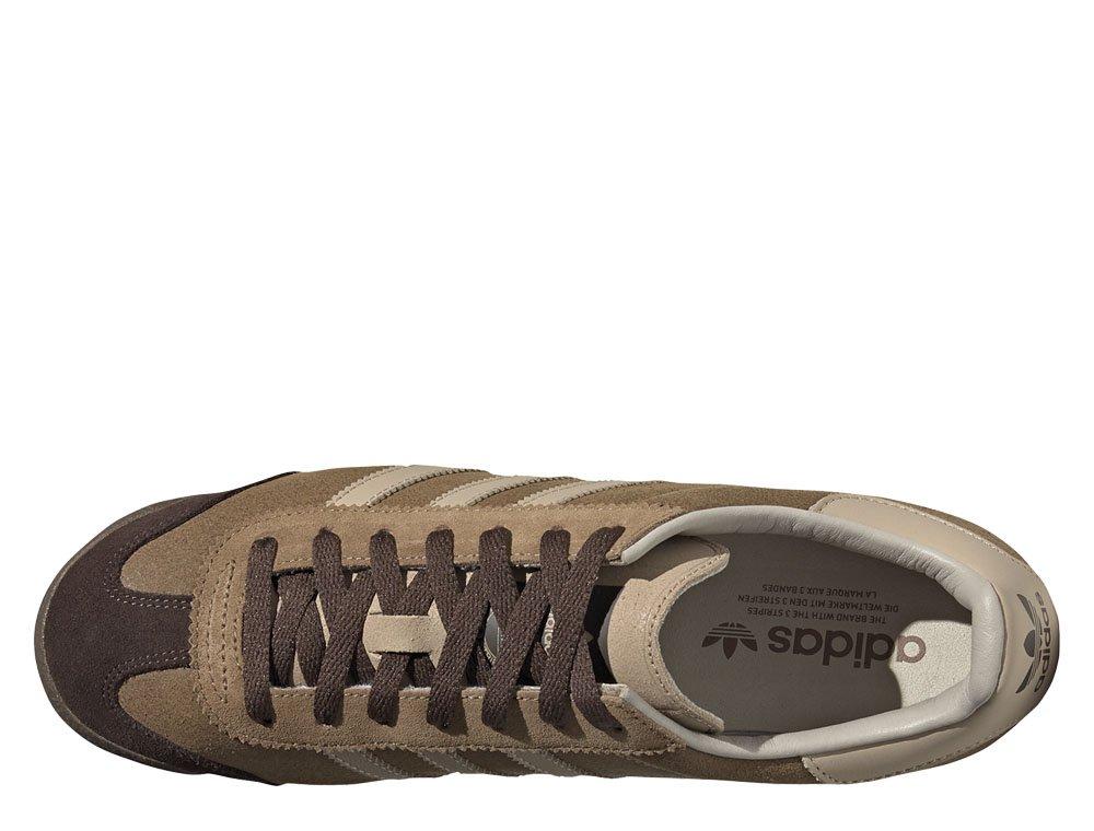 Męskie Buty Adidas Trainers Tan Leather. Zamszowe