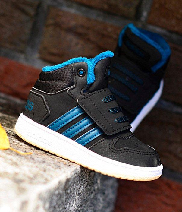 adidas Hoops Mid 2.0 I czarno niebieskie