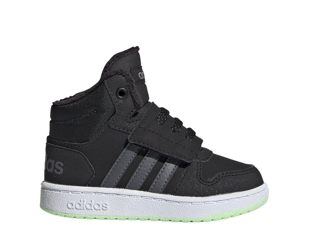 sklep dyskontowy outlet na sprzedaż sprzedaż hurtowa adidas Hoops Mid 2.0 I czarno-szare