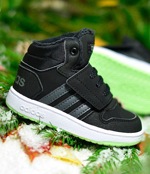 adidas Hoops Mid 2.0 I czarno szare