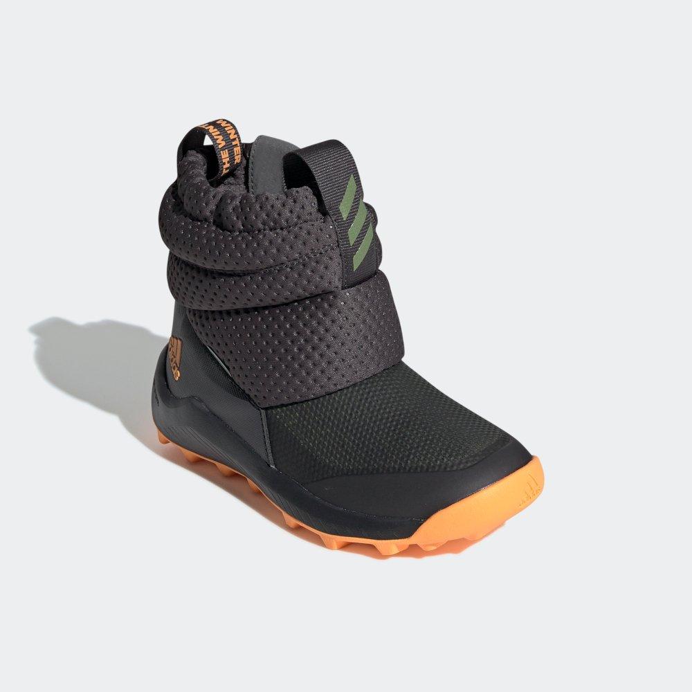 niesamowite ceny Pierwsze spojrzenie najlepszy dostawca adidas RapidaSnow Boots C szaro-pomarańczowe