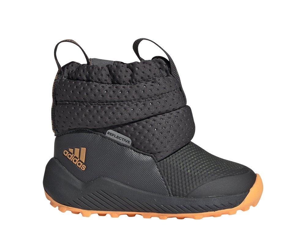 adidas RapidaSnow Boots I szaro pomarańczowe