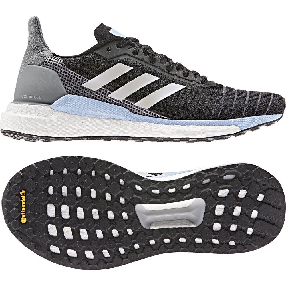 adidas solar glide 19 w niebiesko-czarne